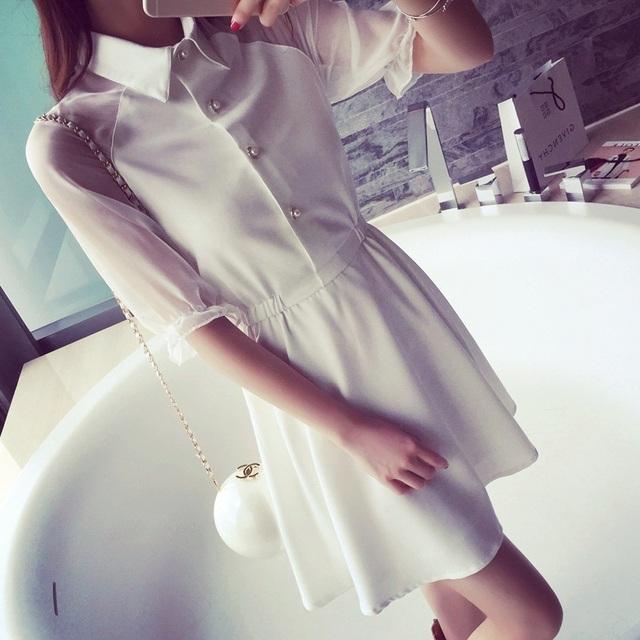 2016 новый летний парень стильная рубашка платье женщины элегантное платье свободного покроя платья Vestidos украина халат longué роковой Elbise роковой