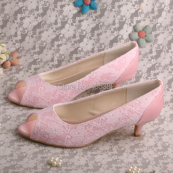Pink Low Heels Promotion-Shop for Promotional Pink Low Heels on
