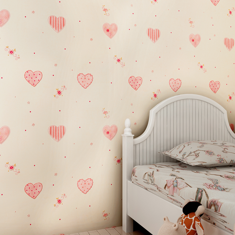 Mignon enfants papier peint promotion achetez des mignon for Papier peint chambre bebe garcon