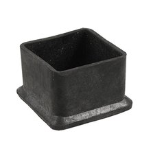 AYHF-Square Black Rubber 50mmx50mm Foot for Table Chair Leg(China (Mainland))