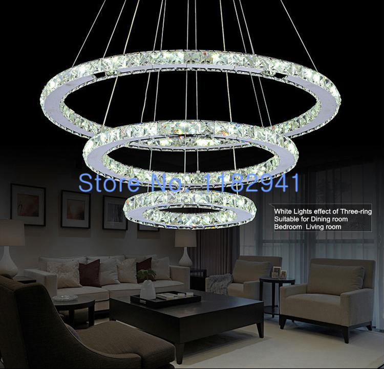 Free fast shipping in stock diamond ring led crystal for Diy led chandelier