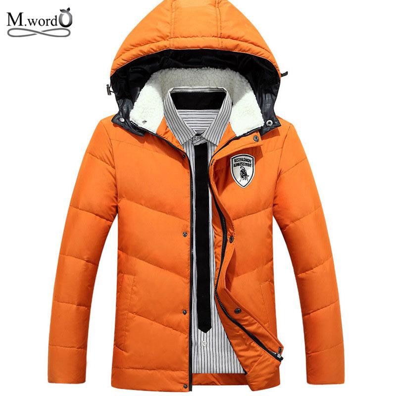 2015 High Quality brand men's winter Jacket down parka Men fur Jacket Coat Men Parkas Plus Size 3xl(China (Mainland))