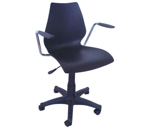 curvy style staff chair company office armrest computer lift reception room revolving