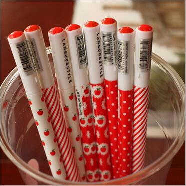 New Vintage Love Red Apple series gel ink pen / Fashion gift pen / Wholesale<br><br>Aliexpress
