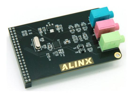 5pcs/lot Audio Module WM8731 Supporting FPGA Development Board(China (Mainland))