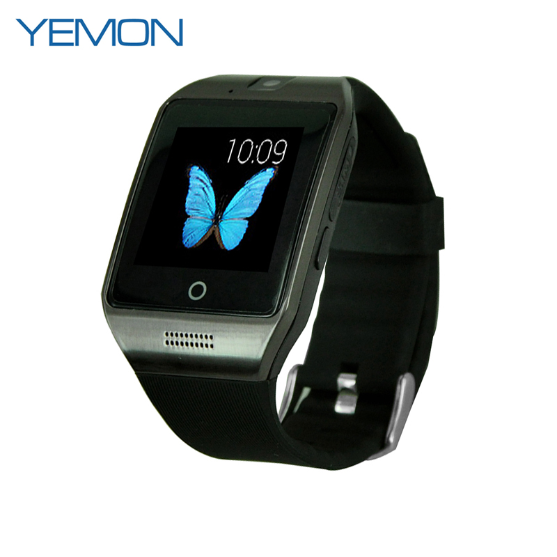 YEMON Apro Q18 Bluetooth Smart Watch Wearable with Sim Card NFC Support For Iphone For Samsung Android Mobile Phone Waterproof(China (Mainland))