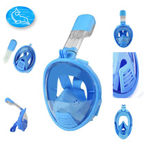 Kids Children Scuba Diving Mask  Silicone Diving Equipment Snorkeling Mask Easy Breath Full Face Gopro Diving Mask For kids(China (Mainland))