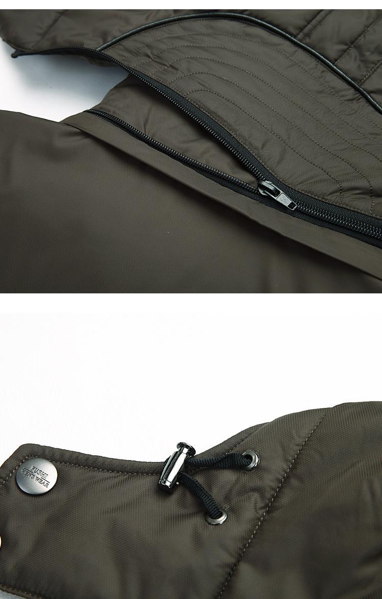 2015 Winter Men s Long Design Down Jacket Coat Mens Real Fur Collar Thick Warm Hooded