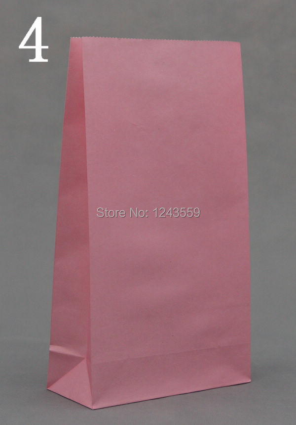 NEW Kraft Paper Bag,23x12x7.5cm, Pink Boutique Jewelry Gift Food Shopping Bag, Fashionable Gift Paper Bag 50pcs/lot(China (Mainland))