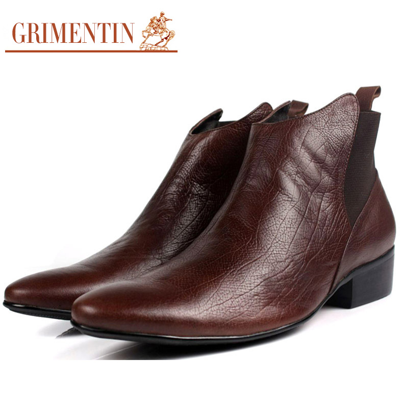 Mens Dress Boots Promotion-Shop for Promotional Mens Dress Boots ...