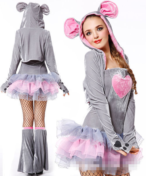 New Arrival Womans Halloween Accessories Sexy Cute Animal Mickey Cosplay Costumes Mouse Role Play Masquerade Disfraces H15797Одежда и ак�е��уары<br><br><br>Aliexpress