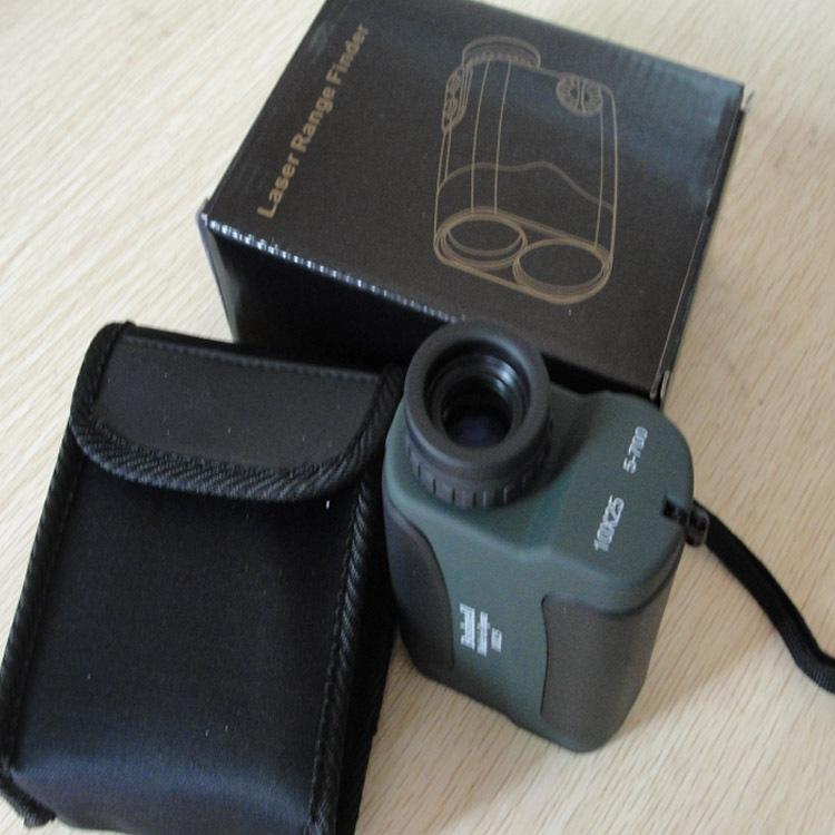 free shipping Binoculars Golf Laser range Distance Meter Rangefinder Range Finder hunting monocular meter 10x25 700m hunting LLL(China (Mainland))