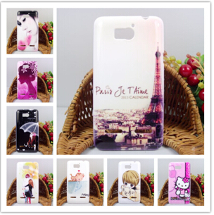 For Huawei U8950d phone case U9508 silicon case for huaewi U8950 case protective case cartoon cover(China (Mainland))