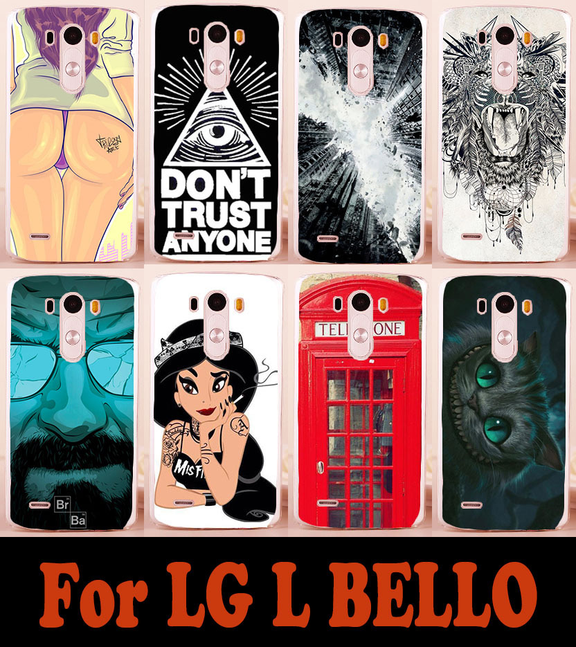 Brilliant Painting mobile phone case hard Back cover Skin Shell For LG L Bello D331 D335 L Prime D337 phone cases cover(China (Mainland))