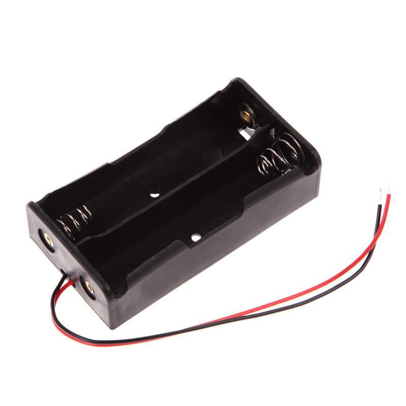 image for New  Power Bank 18650 Battery Holder Plastic Battery Holder Storage Bo