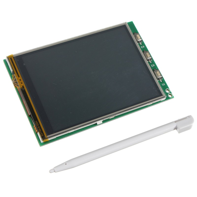 """Brand New High Quality 3.2"""" TFT LCD Module Screen Display Monitor For Raspberry Pi B+ B A+ Board New Electric Unit(China (Mainland))"""