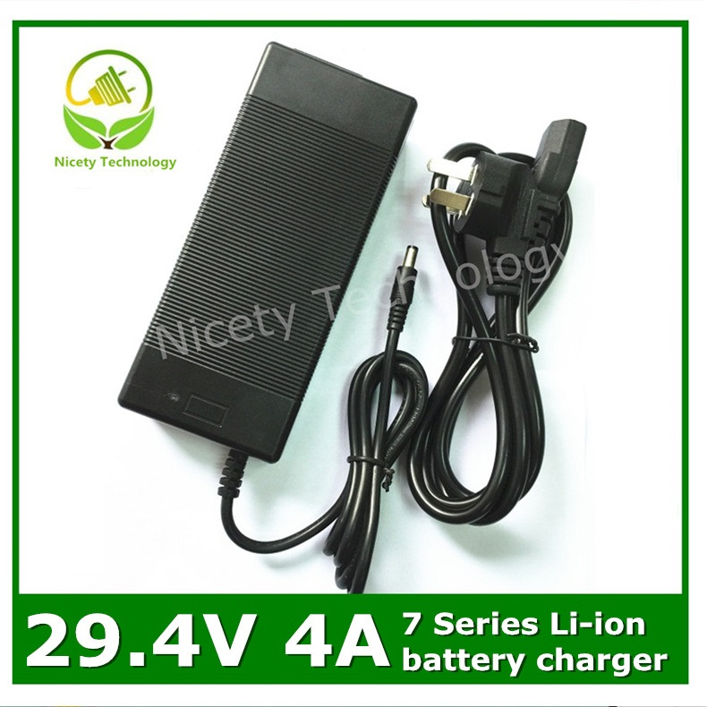 29.4V 4A  lithium battery charger  for  7S lithium battery pack<br><br>Aliexpress