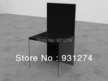 Unique Design Luxury Acrylic Dining Chair White Black Magic Patio Furniture Wholesale And Retail Indoor Living Room Furniture(China (Mainland))