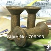 Zakka Wooden Bobine Classic style size 16x40mm DIY tool Wooden Spool 24pcs/lot