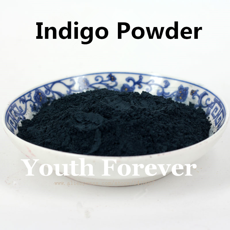 Indigo Pigment Powder 100g Pore Minimizing Soap Additives Handmade Soap Natural Color Colorant DYE Mask Powder(China (Mainland))