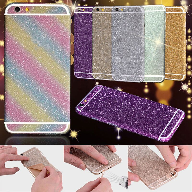 For iPhone 6 Plus Phone Sticker 2016 New Style Multi-color Flash Full Phone Body Protective Film Stickers for iPhone 6s Plus(China (Mainland))