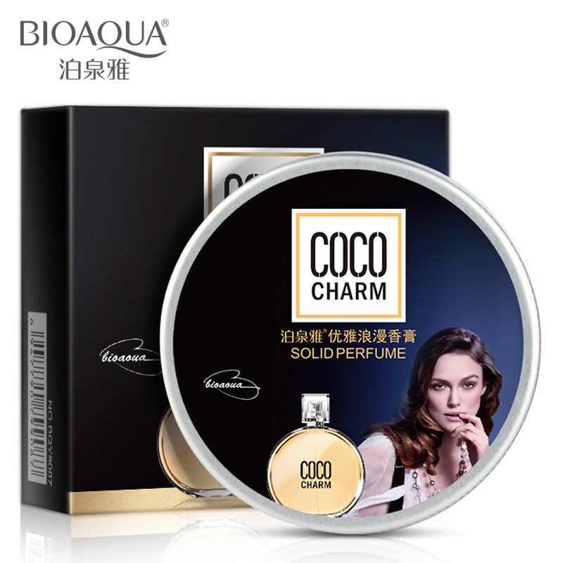 BIOAUA Mixed flavor classic female perfume Ointment Cream solid perfume moisture soothing skin Care beauty perfumes for women(China (Mainland))