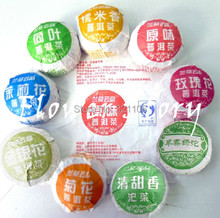 45 pcs 9 Kinds Chinese Pu er tea pu er ripe Fermented tea Gdod Flavor Weight
