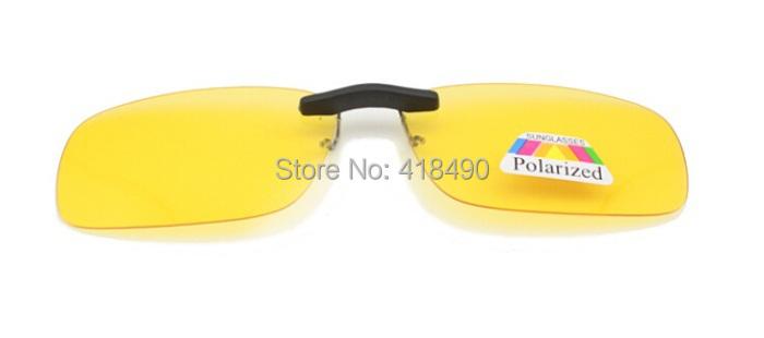 free shipping 200pcs Clip daily night men and women myopia polarized sunglasses clip eyewear fashion goggles oculos
