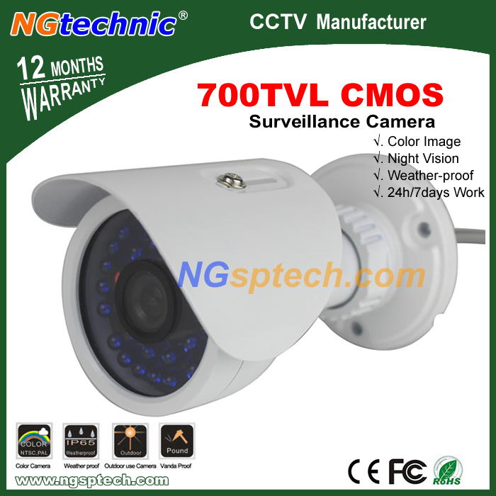 700TVL Surveillance 30 pcs blue LED IR night vision  Indoor/outdoor Security  CCTV Camera,free shipping<br><br>Aliexpress