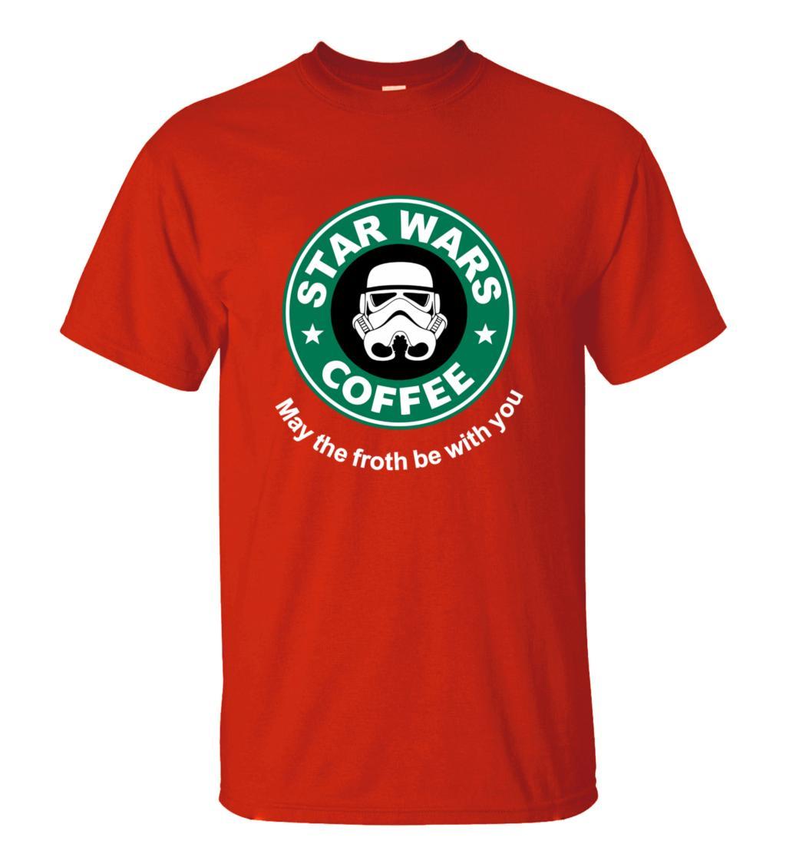2016 New Arrival Cool star wars T Shirt funny COFFEE Printed T-shirt Men's Short Sleeve O-Neck Streetwear HipHop Summer Tops Tee  HTB1srF0MXXXXXbpXXXXq6xXFXXXC