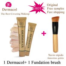 Dermacol Base Make up Cover 30g Primer Concealer Base Professional Face Dermacol Makeup Foundation Contour Palette original(China (Mainland))