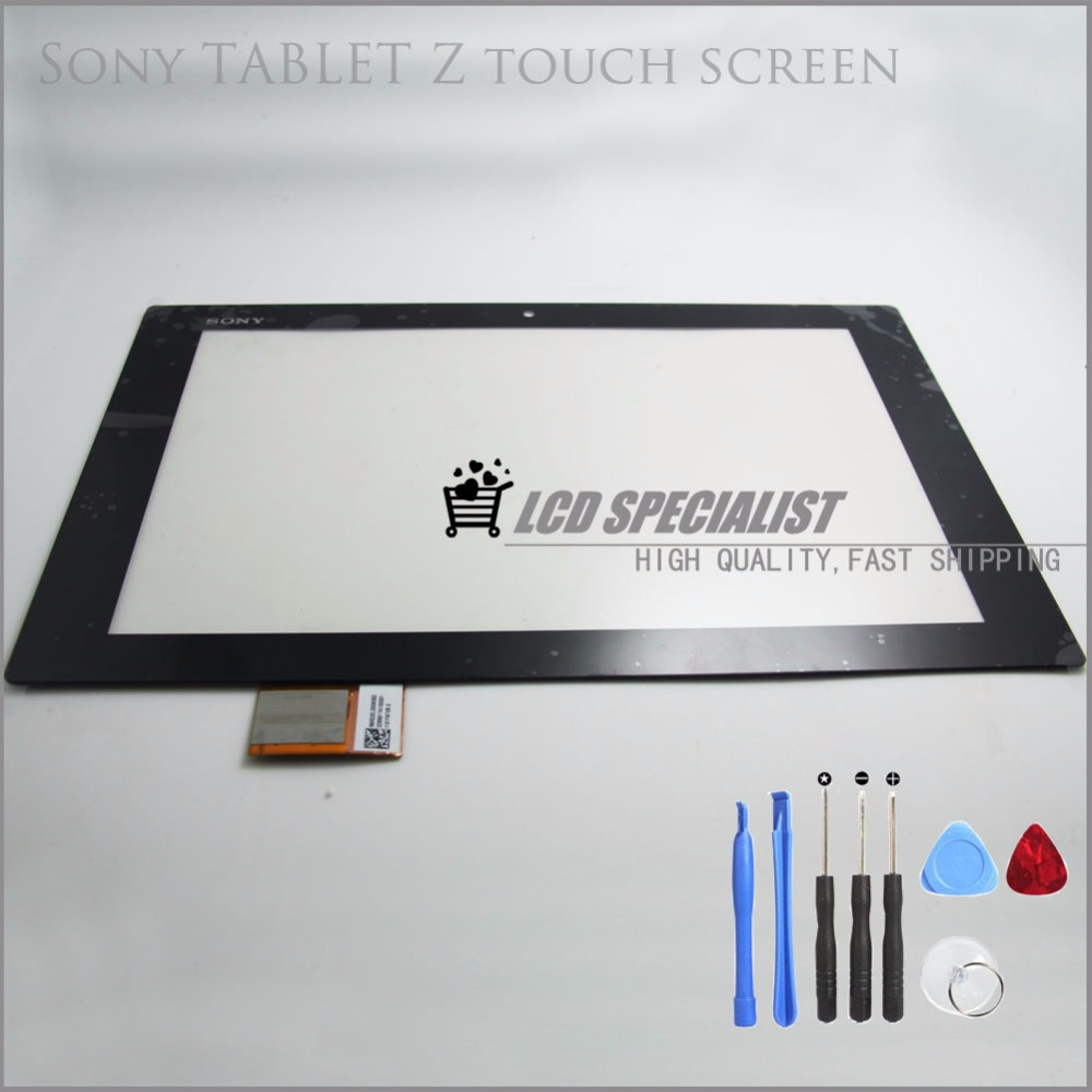100% Original Touch Screen Digitizer Sensors Parts Replacement For Sony Xperia Tablet Z(China (Mainland))