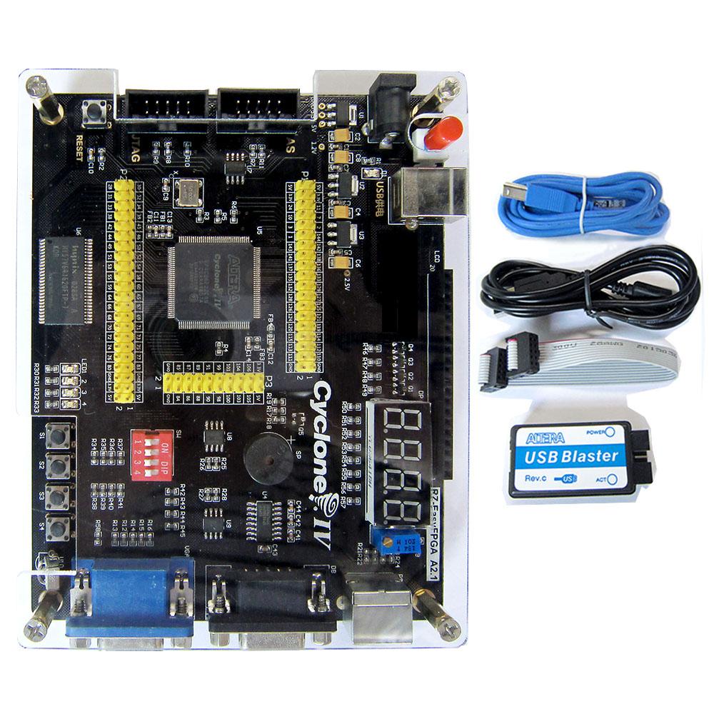 ALTERA Cyclone IV EP4CE6 FPGA Development Kit Altera EP4CE FPGA Board + USB Blaster + Infrared(China (Mainland))