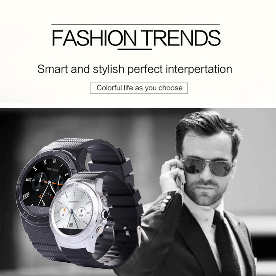 Handsome Bluetooth Smartwatch Intelligent With Remote Camera Video Recording PSG Heart Rate Tracker Bluetooth Smart Watch Men(China (Mainland))