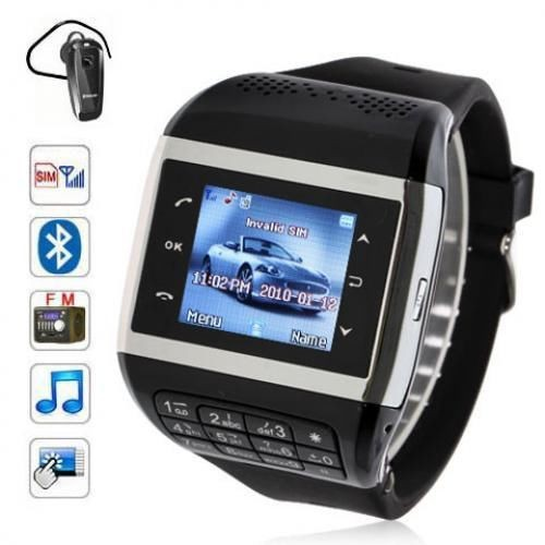 Relogio Inteligente Bluetooth Smart Electronics Watch with Keyboard SIM Wearable Devices Unlocked GSM Cell Phone Watches Clock(China (Mainland))