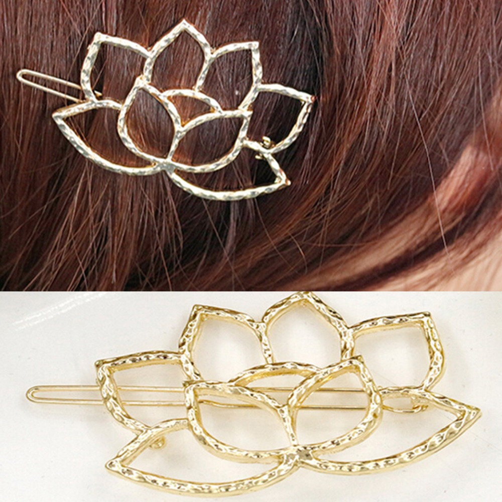 2016 New Fashion Jewelry Wholesale Factory Supplier Flower Shaped Hairpins Hair Accessories t103(China (Mainland))