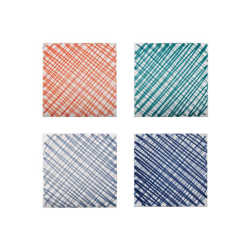 Tile 200 vintage fashion kitchen floor tiles Tile Accessories antique brick lines patchwork motif pattern background wall<br><br>Aliexpress