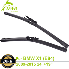 """Buy Wiper Blades BMW X1, E84 2009-2015 24""""+19"""", 2pcs Free Shipping, Expert Fit Windshield Wipers for $22.48 in AliExpress store"""