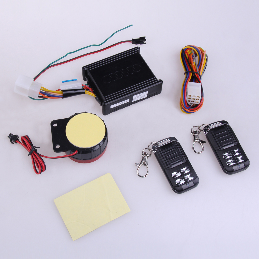Motorcycle Safety Security Vibration Sensor Alarm system with 2 Remote Control(China (Mainland))