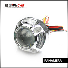 Buy Free IPHCAR Car Styling Auto Part White LED Angel Eyes Car Light Lamp Xenon Projector Headlight Shroud for $39.99 in AliExpress store