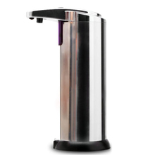WSFS Hot Automatic Stainless Steel Hands Free IR Sensor Soap Dispenser w/ Stand Best GIFT(China (Mainland))