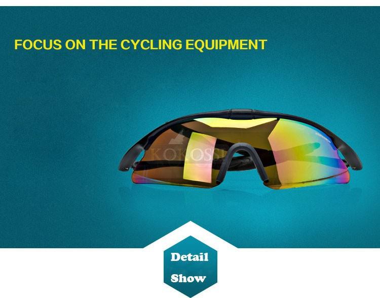 Men Cycling Glasses UV400 Outdoor Sports Women Mountain Bike Bicycle