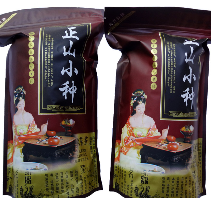 Гаджет  Honey flavor lapsang souchong black tea 250g bags paulownia    the black tea health care set products for weight loss None Еда