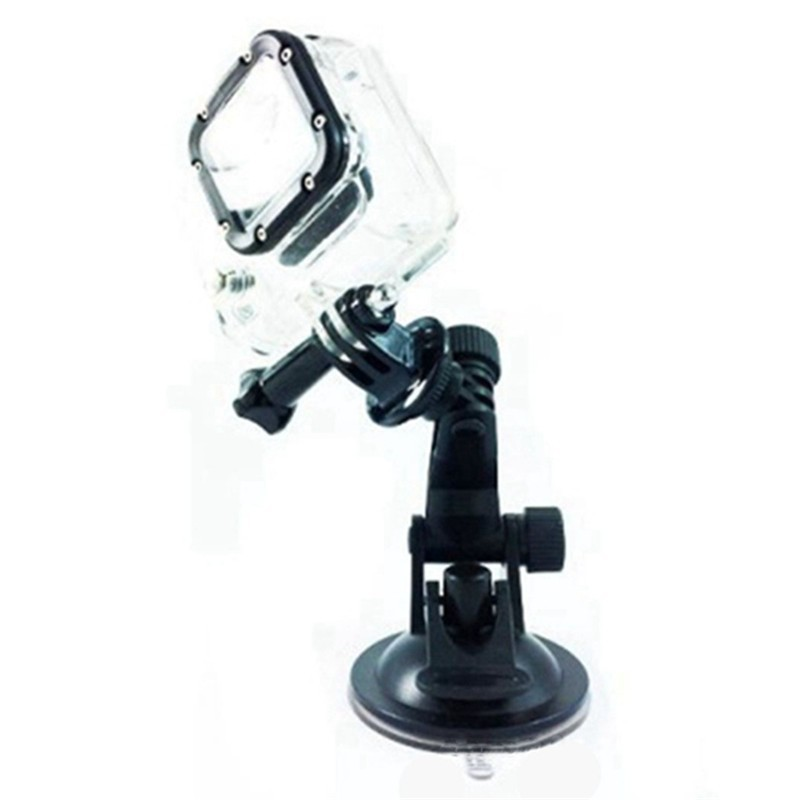 For Gopro suction cup mount with tripod adapter for sj4000 sj5000 sj6000 sj7000 xiaomi yi action camera accessories