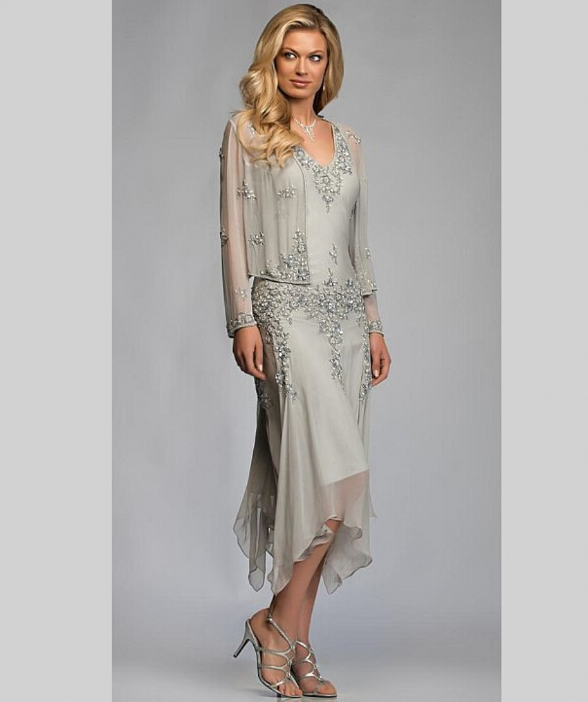Buy elegant mother of the bride dresses for Blazer with dress for wedding