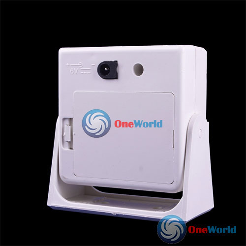 CuteMiss Wireless Door Bell Infrared Welcome Guest Alarm Chime Motion Sensor Detector Hot(China (Mainland))