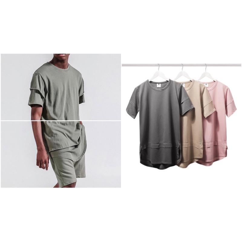 Popular mens extra long t shirts buy cheap mens extra long t shirts lots from china mens extra for Extra long dress shirts