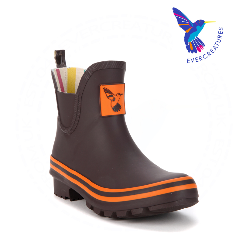 British brand !2015 Spring Rain Boots Fashion ankle Rainboots Slip-on Resistant Womens Rubber Water Shoes brown Womens shoes <br><br>Aliexpress