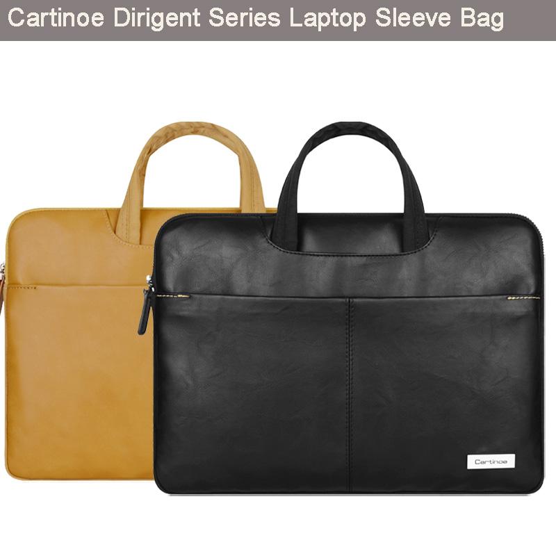 Cartinoe Stylish Pu Leather font b Laptop b font Bag font b Sleeve b font Carrying