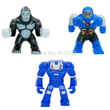 Decool 3pcs 0229/0230/0231 Building Blocks Super Heroes Avengers Minifigures Ultron DARKSEID GORILLA GROOD MARK 38 IGOR Figures